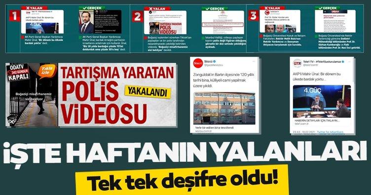 ODA TV, Sözcü, Tele 1, Independent Türkçe ve Cumhuriyet'in haberleri yalan çıktı