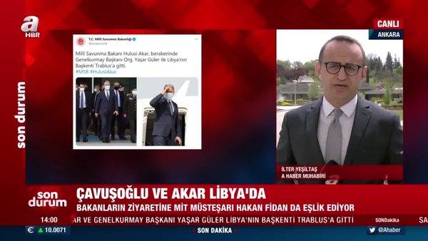 Milli Savunma Bakanı Hulusi Akar'dan Libya çıkarması