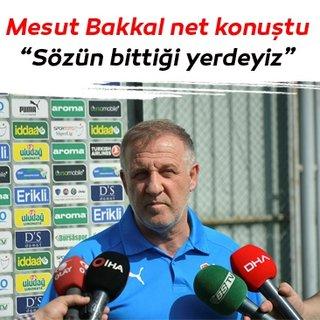 Mesut Bakkal: Sözün bittiği yerdeyiz