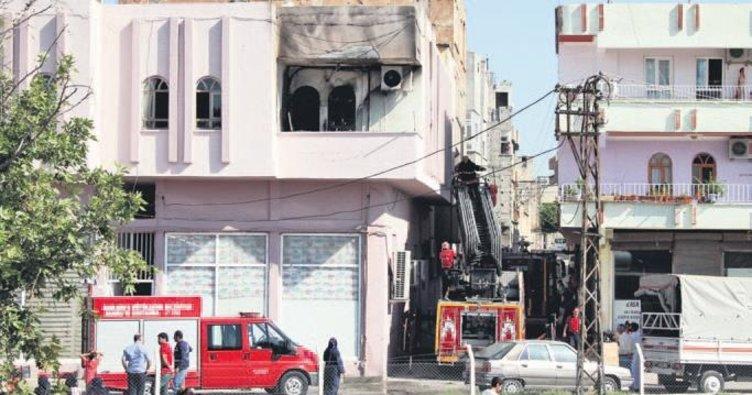 Klima motorundan yangın çıktı: 1 ölü 1 yaralı