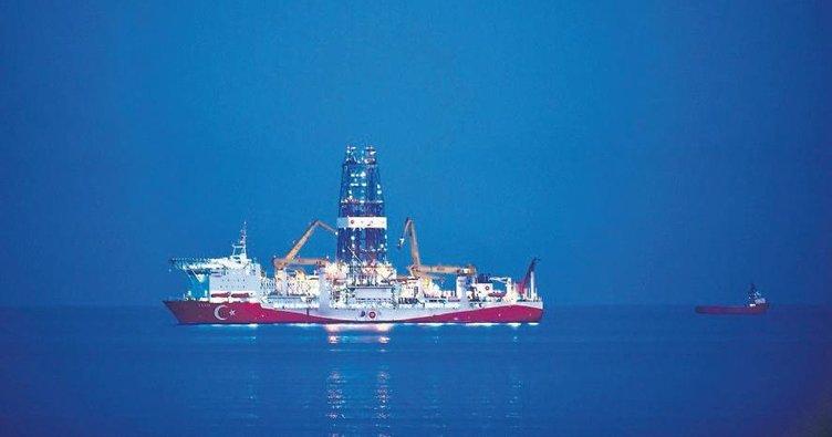 Fatih sondaj gemisi Mersin açıklarında
