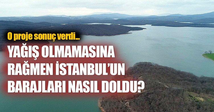 Yağış yok, peki İstanbul barajları nasıl doldu?