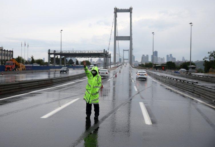 İstanbul'da bayram sessizliği fotoğraflara böyle yansıdı!