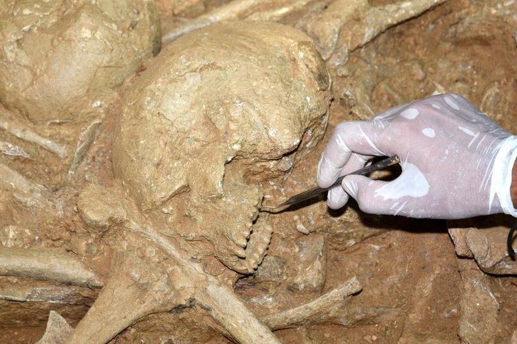 Çanakkale'de 2600 yıllık çok sayıda iskelet çıktı!