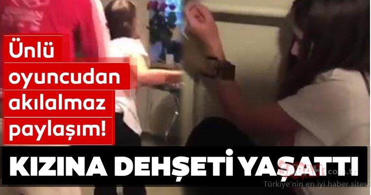 Son Dakika Haberi: Ünlü oyuncu kızına dehşeti yaşattı! Sosyal medyadan paylaştı...
