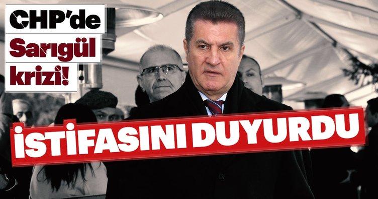 Son dakika: Seçime sayılı günler kala CHP'de Sarıgül depremi! Mustafa Sarıgül istifa etti!