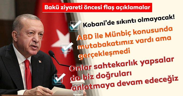 Son Dakika: Başkan Erdoğan'dan Barış Pınarı Harekatı'na ilişkin flaş mesajlar