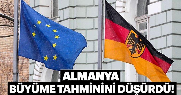 Alman hükümeti 2019 büyüme tahminini düşürdü