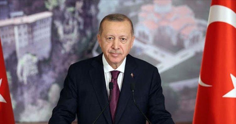 Başkan Erdoğan, KKTC Başbakanı Saner'i kabul etti