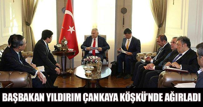 Başbakan Yıldırım'ın kabulü