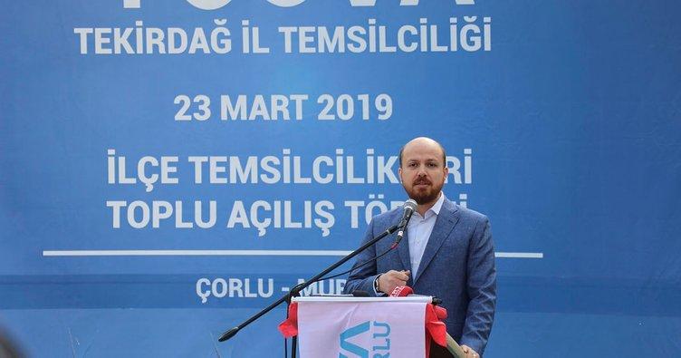 Bilal Erdoğan: Ekonomik manipülasyon yapıyorlar