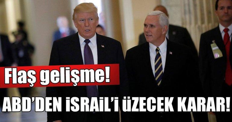 ABD Başkan Yardımcısının İsrail ziyareti süresiz ertelendi!