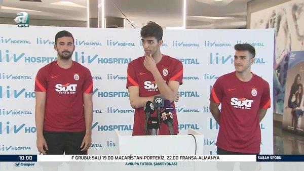 Son dakika: Galatasaraylı Eren Aydın'dan Falcao sözleri!