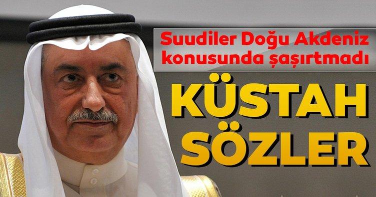 Suudiler Doğu Akdeniz konusunda şaşırtmadı...