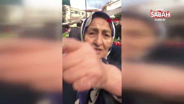 Sosyal medyada yoğun ilgi gören 'Fatma Teyze'den, Suriye yorumu | Video