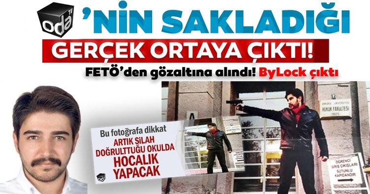 Oda TV'nin sakladığı gerçek ortaya çıktı: 'Akademisyen' FETÖ'den gözaltına alındı, ByLock çıktı