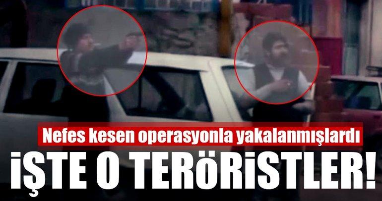 Son Dakika: İzmir'de yakalanan teröristlerin görüntüleri ortaya çıktı