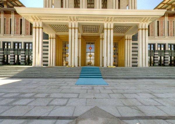 Cumhurbaşkanlığı Sarayı'nda sanal tur