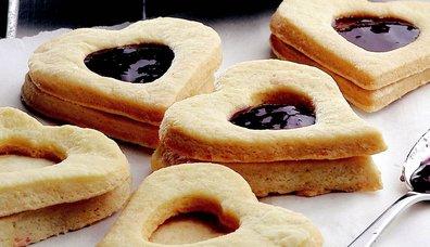 Marmelatlı Bisküvi