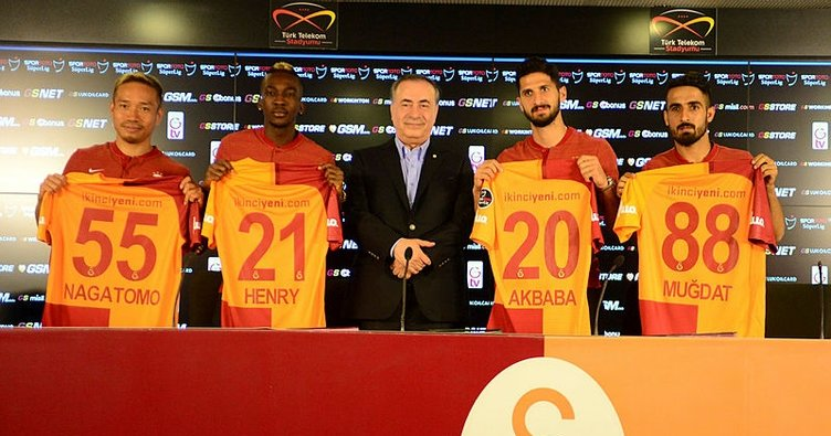 Galatasaray transferde 700 bin Euro kar etti