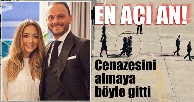 Mina Başaran'ın cenazesini almaya nişanlısı Murat Gezer böyle gitti