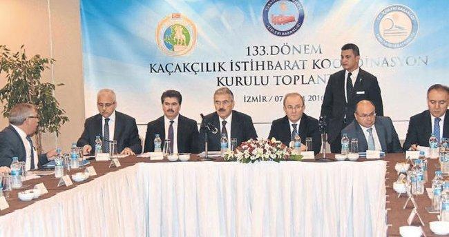İzmir'deki kaçakçılık zirvesinde FETÖ ele alındı