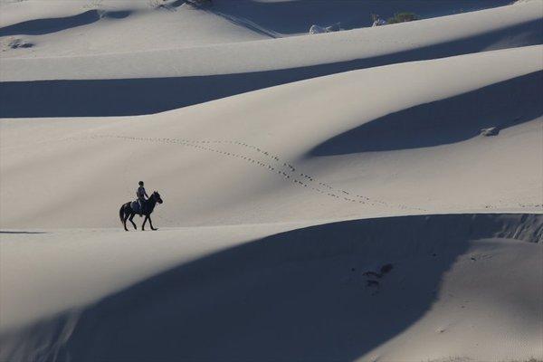 Antalya'nın kum tepeleri!