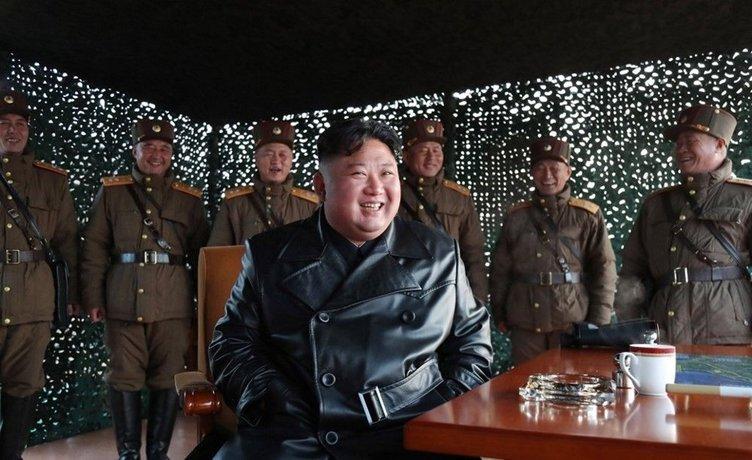 Kuzey Kore lideri Kim Jong-un corona virüse meydan okuyor