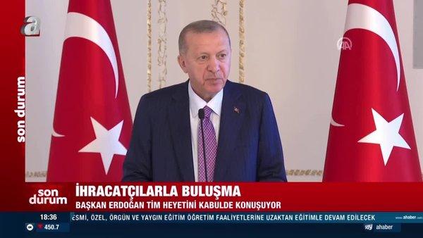 Başkan Erdoğan TİM heyetini kabul etti | Video