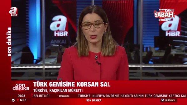 Son dakika... Atlas Okyanusu'nda Türk gemisine korsan saldırısı | Video
