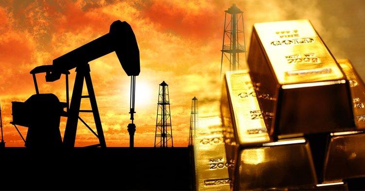 Altın fiyatları gerilerken petrol yatay seyretti