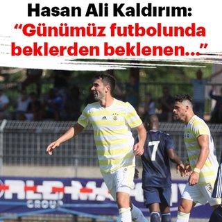 Hasan Ali Kaldırım: Her zaman ofansif olmak zorundasınız