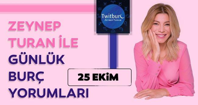Uzman Astrolog Zeynep Turan ile günlük burç yorumları 25 Ekim 2020 Pazar - Günlük burç yorumu ve Astroloji