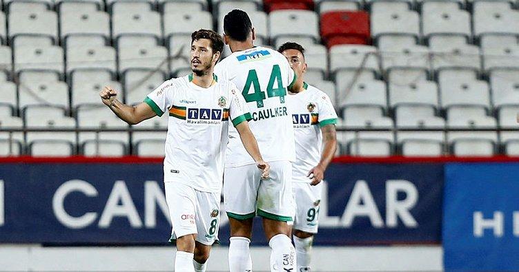 Akdeniz derbisinde kazanan Alanyaspor! Antalyaspor 0-2 Alanyaspor