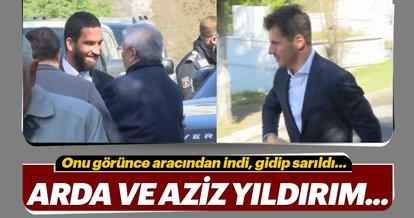Ömer Onan'ın babası son yolculuğuna uğurlandı! Aziz Yıldırım, Emre Belözoğlu, Arda Turan...