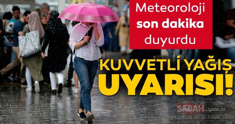 Meteoroloji'den birçok il için son dakika hava durumu ile sağanak yağış uyarısı geldi! Bugün hava nasıl olacak? 11 Eylül