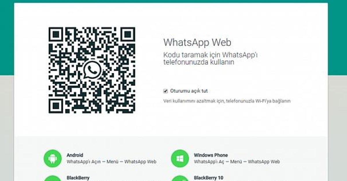 Bilgisayardan Whatsapp Web E Nasil Giris Yapilir Whatsapp Web Qr Kodu Okutma Ile Giris Islemi Medya Haberleri