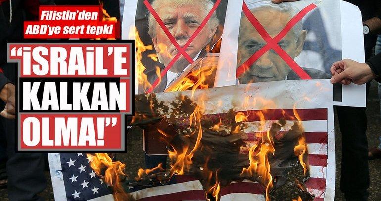 Filistin'den ABD'ye BMGK'da İsrail'e kalkan olma tepkisi