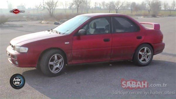 98 model Subaru'nun inanılmaz değişimi!