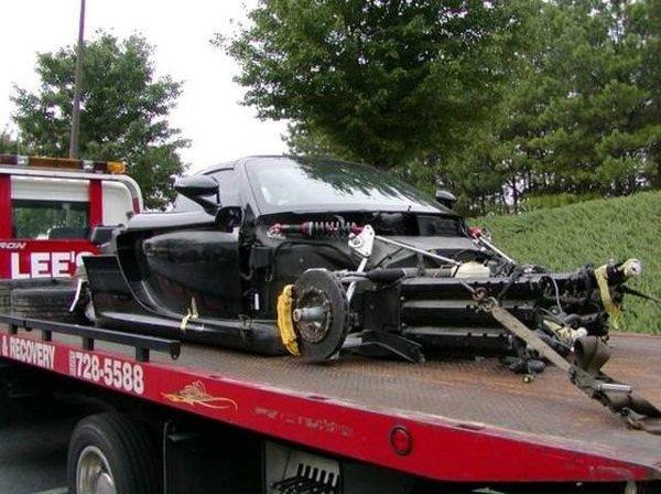 İnanılmaz Porsche kazaları