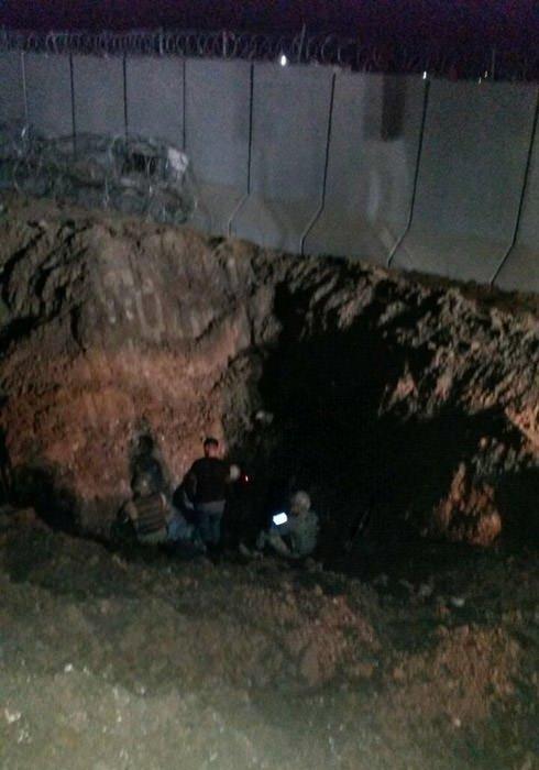 PKK'lıların Mardin - Suriye sınırında açtığı tüneller