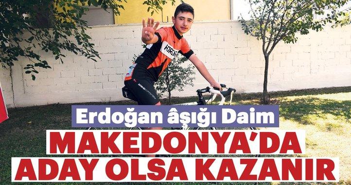 Erdoğan Makedonya'da aday olsa kazanır