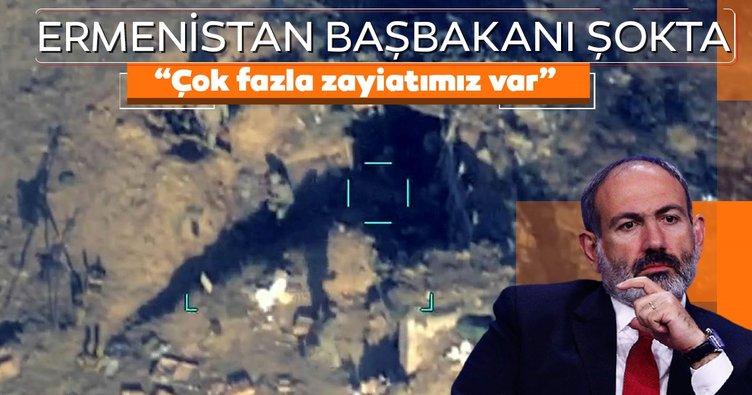 """Ermenistan Başbakanı Paşinyan: """"Çok fazla zayiatımız var"""""""