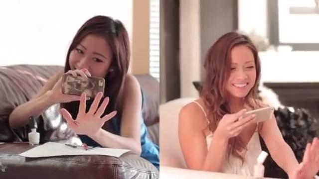 Gerçek kız ve Instagram kızı