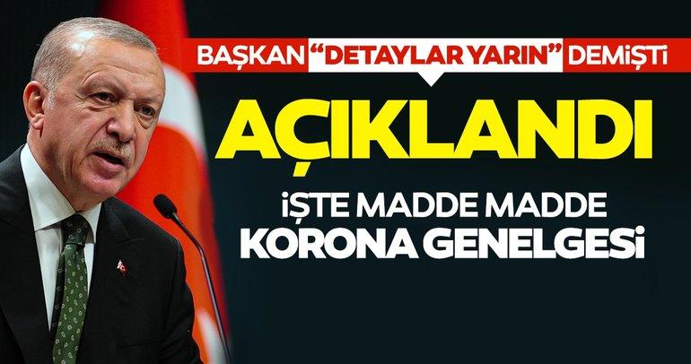 SON DAKİKA HABERİ... Başkan Erdoğan'ın işaret ettiği genelge yayınlandı! İşte İçişleri Bakanlığı korona genelgesi