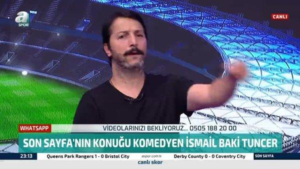 Komedyen İsmail Baki Tuncer Fenerbahçe eski başkanı Aziz Yıldırım'ı taklit etti!