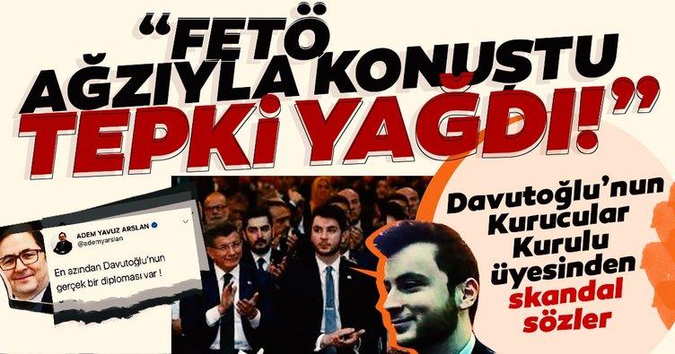 Ahmet Davutoğlu'nun partisinin Kurucular Kurulu Üyesi İsmail Günaçar FETÖ dili kullandı!