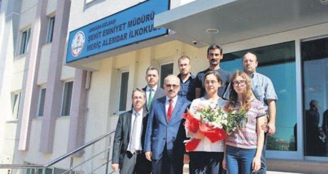 Şehit Alemdar'ın adı okulda yaşatılıyor