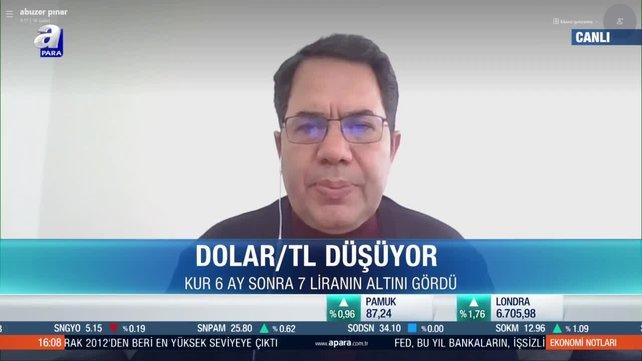 Prof. Dr. Abuzer Pınar: 7 liranın altında ters dolarizasyon hızlanacak