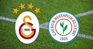 Galatasaray Rizespor CANLI İZLE! Ziraat Türkiye Kupası Galatasaray Çaykur Rizespor A Spor canlı yayın linki BURADA!